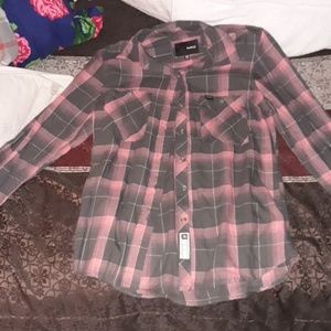 LADIES HURLEY BUTTONDOWN